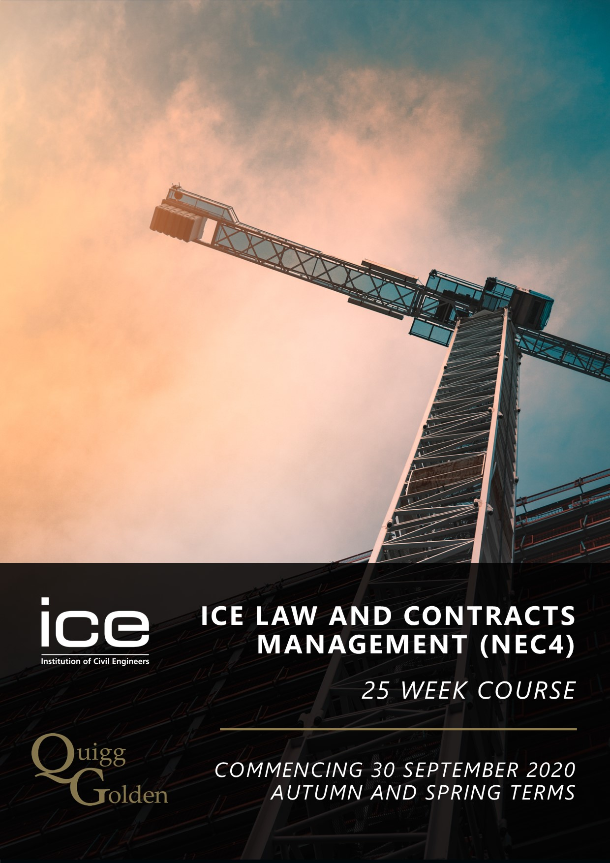 Law and Contract Management Course Brochure