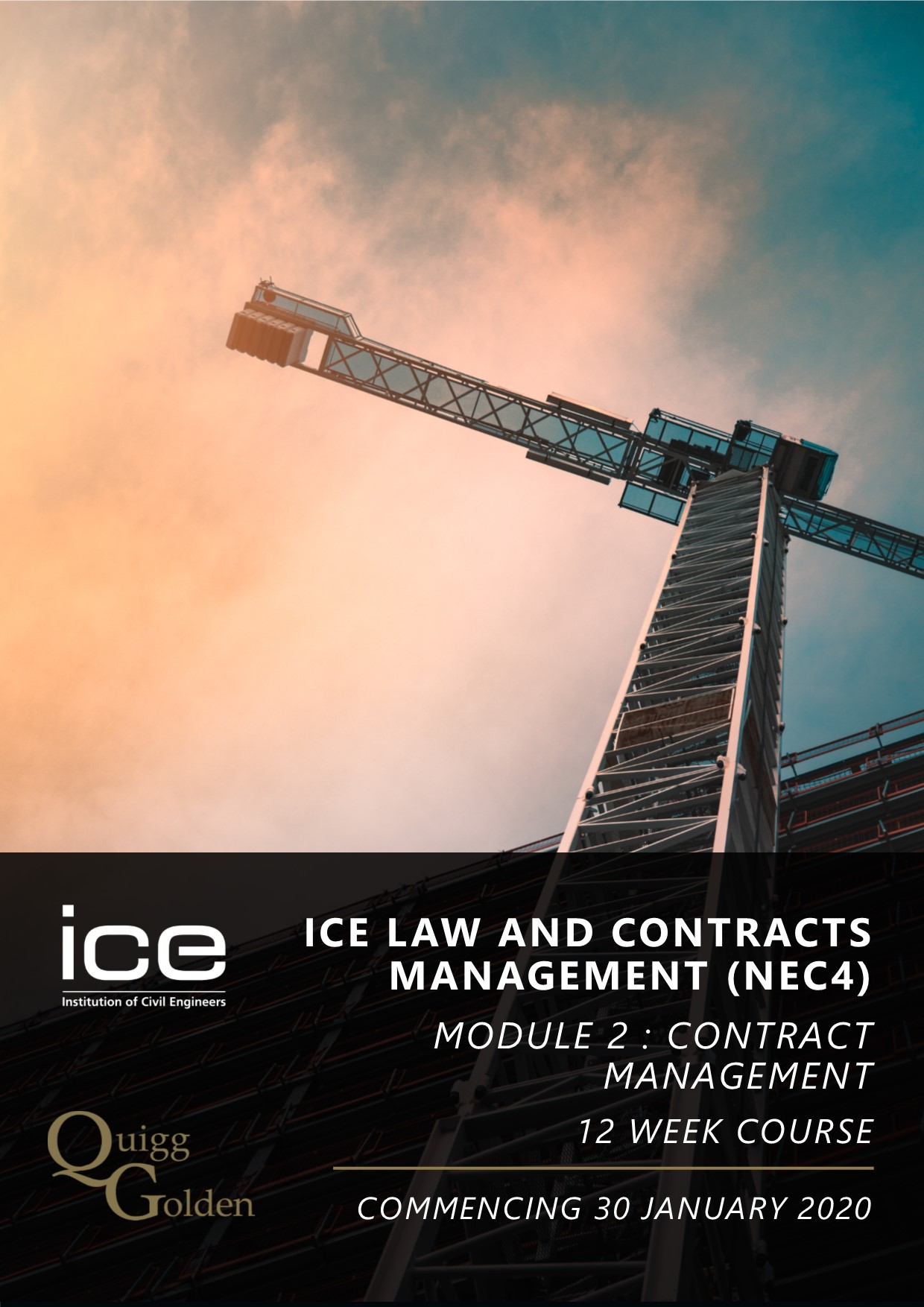 ICE Law and Contracts Management Course