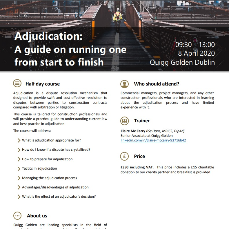 Adjudication Guide PDF Flyer