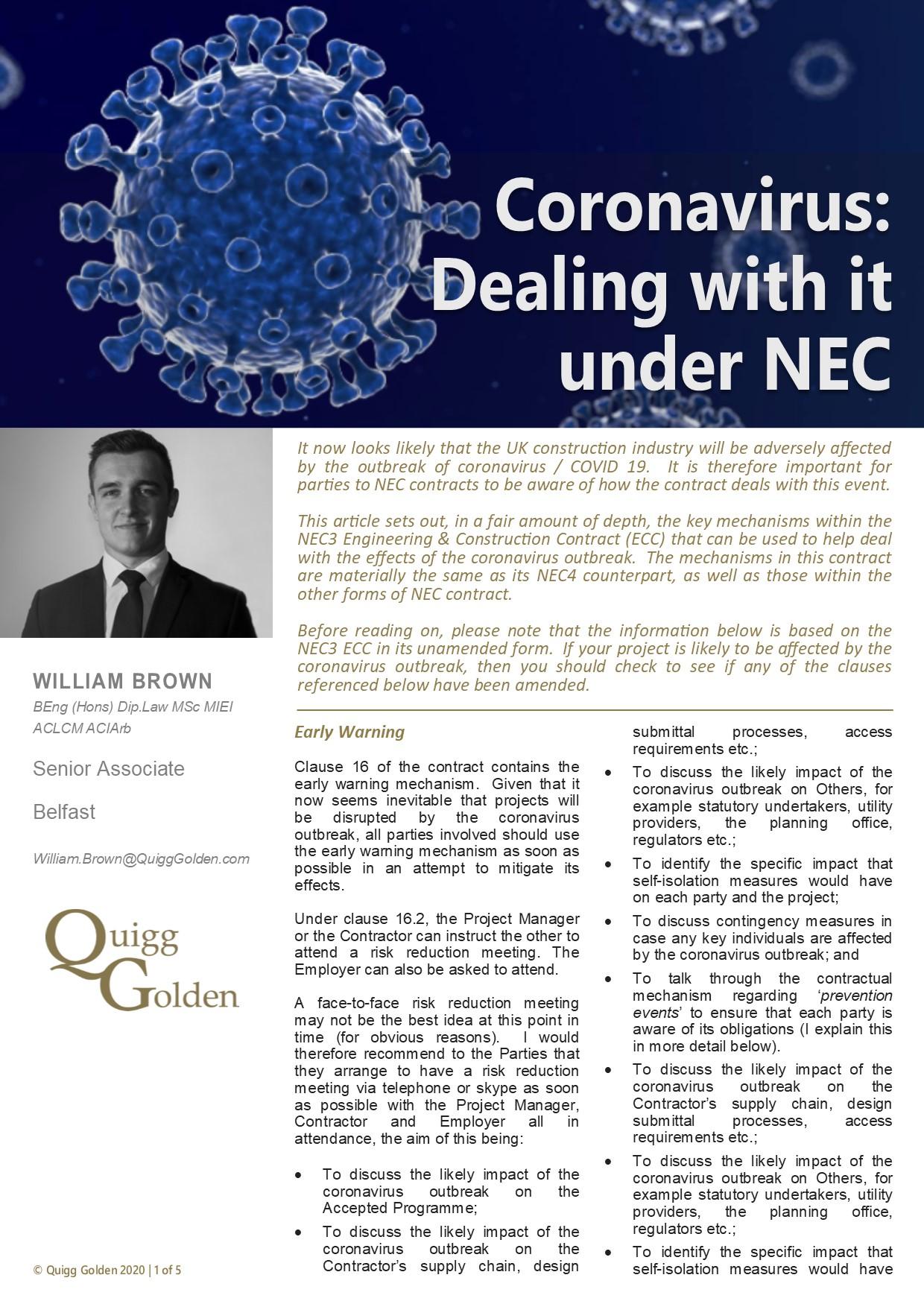 Coronavirus Article PDF